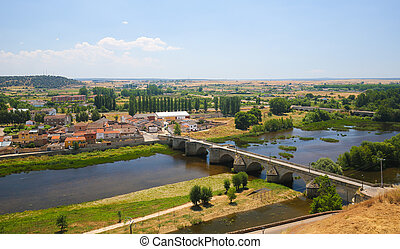 Ciudad Rodrigo - Bridge over the River Agueda in Ciudad...