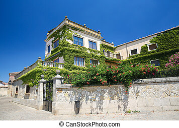 Ciudad Rodrigo - Historic house in Ciudad Rodrigo, a border...