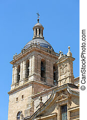 Ciudad Rodrigo Cathedral - Tower of the Cathedral, built...