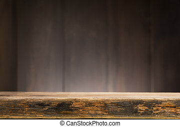 Wood texture background old panels, weathered barn wood...