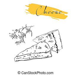 Cheese types Delicious fresh cheese variet cheese making...