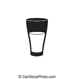drink liquid glass icon vector graphic - drink glass icon...