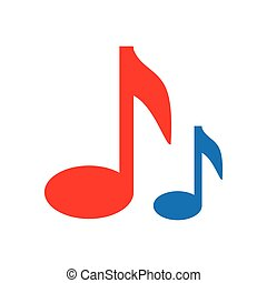 note music musical icon vector graphic - note music musical...