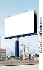 Billboard free space and Traffic Barrier - Billboard free...
