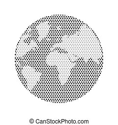 world earth planet design, vector illustration eps10