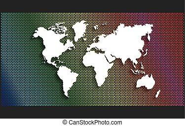 world earth planet design, vector illustration eps10