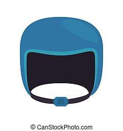 helmet sport safe vector graphic icon - helmet sport winter...