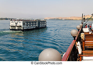 Africa, Egypt, Nile Cruise - A cruise on the Nile belongs to...