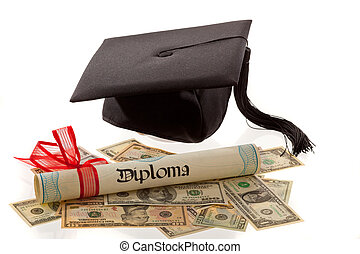 Mortar Board and the dollar. Cost of education in America. -...