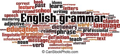 English grammar-horizon.eps - English grammar word cloud...