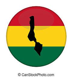 kaart, knoop, vlag,  rastafarian,  Malawi