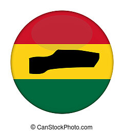 kaart, knoop, vlag,  rastafarian,  gambia