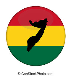 kaart, knoop, vlag,  rastafarian, Somalië