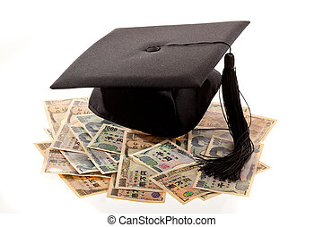 Mortar Board and the yen. Cost of education in Japan. -...