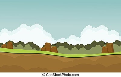 Scenery nature backgrounds game