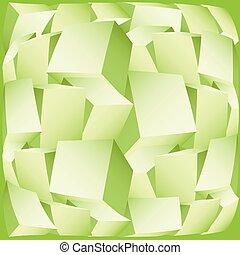 3d composition of cubes