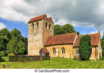 Parish church, Fingest, Buckinghamshire, England - Parish...