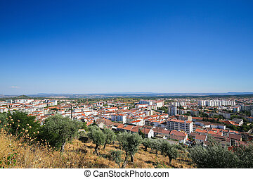 Castelo Branco, Centro region, Portugal - View from the...