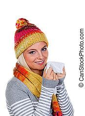 influenza, donna, freddi