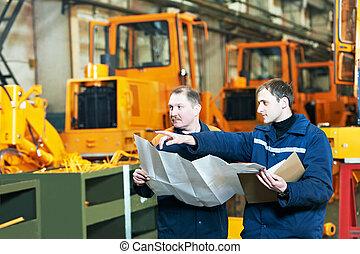 factory engineers at workengineer