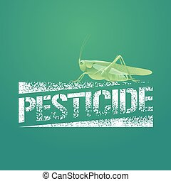 Pesticide vector logo, icon, symbol, emblem Design element...