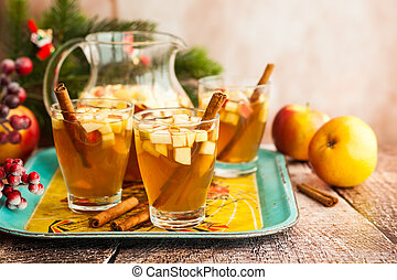 Fall and winter drink - Fall and winter drink with...