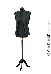 Tailor Mannequin - Sewing Mannequin Model Isolated Included...