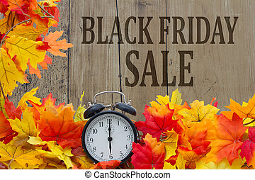 Time for Black Friday Shopping Sale