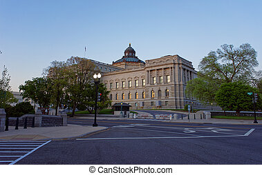 Library of Congress in Washington DC US