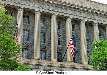 Department of Commerce in the Herbert C Hoover Building -...