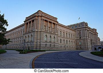 Library of Congress building Washington DC USA