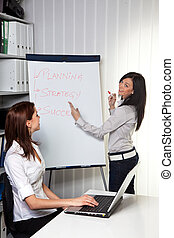 Business Coaching for and by young women - Young women in a...