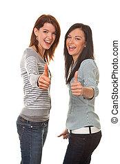 Successful friends