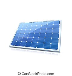 Solar panel. High quality illustration