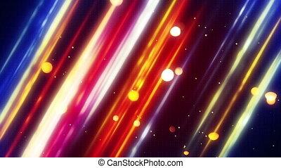 blurred diagonal lines and bokeh loop - blurred diagonal...