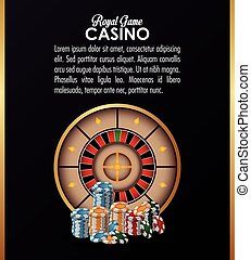 roulette chips casino las vegas icon