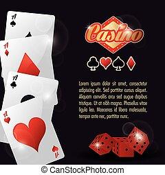 cards dice casino las vegas game icon