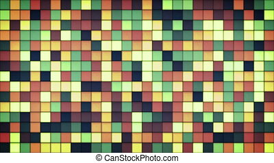 glowing glass mosaic seamless loop background - glowing...