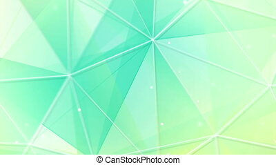 cyan triangles and lines pattern seamless loop