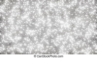 White glitter dots loopable background - White glitter dots....