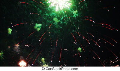 fireworks seamless loop