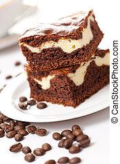 café, pastel