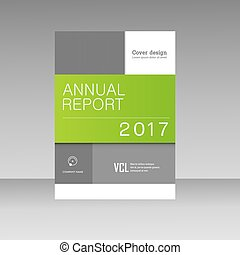 Vector brochure design template.