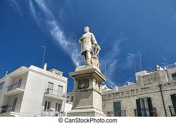 Giuseppe Mazzini Statue