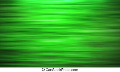 Green Abstract Fractal Lines.