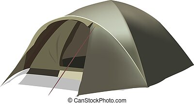 green camping tent in igloo - green camping tent for shelter...