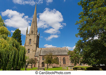 St Mary`s church Ross-on-Wye uk - St Mary`s church...