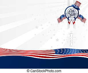 Background for 4th of July in U.S.