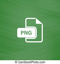 PNG image file extension icon - PNG image file extension...