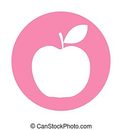apple fruit isolated icon vector illustration design